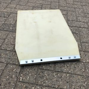 Trilplaten rubbermat